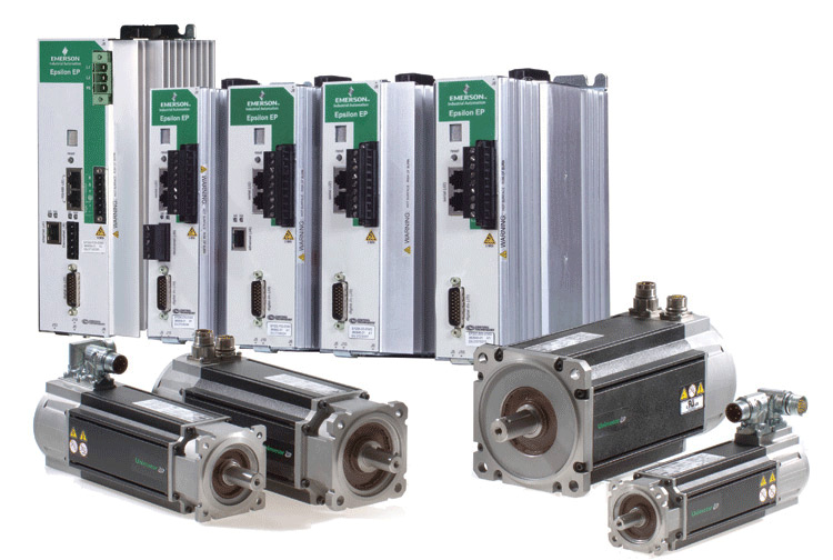 Emerson control techniques drive and control specialists for Servo motors and drives