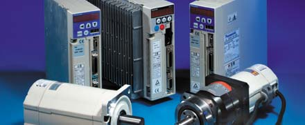 Panasonic drive and control specialists torsion for Small servo motors and drives